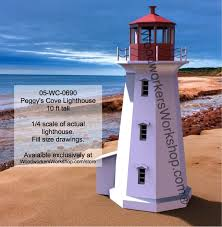 peggys cove lighthouse woodworking plan
