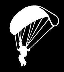 Parachute Sky Diving Decal Car Truck Window Laptop Skydivers Sticker In 2020 Cars Trucks Custom Vinyl Decal Skydiving