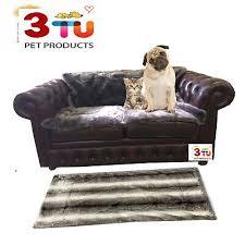 pet dog cat faux fur blanket luxurious