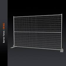 Temporary Fence Barrier Fence Bf96s Integrity Worldwide Inc