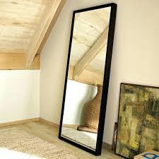 full length mirrors white