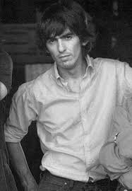 George Harrison. He looks like a male model here. Only better. | The  beatles, Beatles george, George harrison