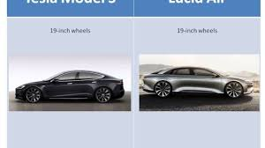 Tesla Model S vs Lucid Air lil ...