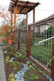Hog Wire Fence On Pinterest Backyard Fences Fence Planning Fence Design