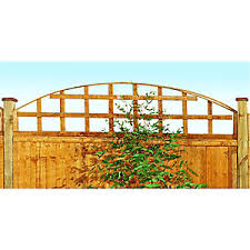 Forest Garden Arch Top Trellis 460mm X 1 83m Wickes Co Uk