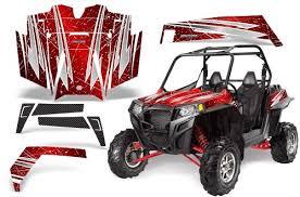 Creatorx Polaris Rzr 900 900xp Xp Side X Side Graphics Kit Decals Rockin 80s Red Hedwig Halterman B33