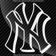 New York Yankees 3d Style Decal Decals By Delano