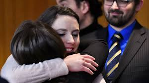 Rachael Denhollander, first to accuse Larry Nassar, names baby after  Michigan detective who built historic case