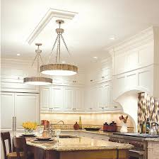 11 close to ceiling kitchen flush mount