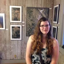 Jaime Johnson at the opening for her show UNTAMED at Smith & Lens ...