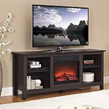 walker edison w58fp18es fireplace tv
