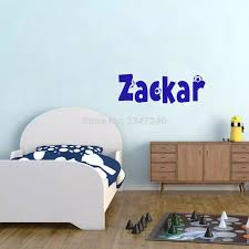 Personalized Boys Names Soccer Wall Sticker Football Sports Wall Decals Vinyl Kids Room Decoration Room Decoration Kids Room Decorationname Wall Stickers Aliexpress