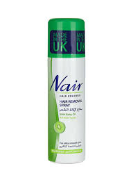 hair removal spray with baby oil 200 ml