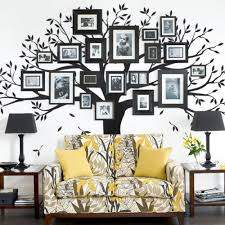 Family Tree Wall Decal Black 107 W X 90 H Inches Standard Walmart Com Walmart Com
