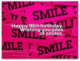 16th birthday wishes birthday
