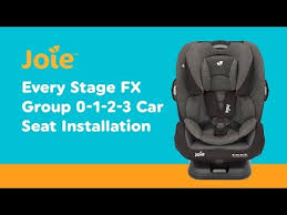 installation guide for joie every stage