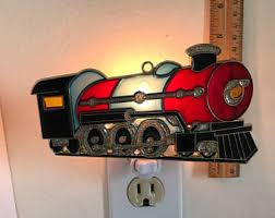 Lamp Night Lights Thomas The Tank Engine Personalized Name Led Night Light Colour Change Kids Room Lamp Home Garden