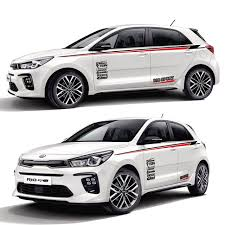 Taiyao Car Styling Sport Car Sticker For Kia Rio Accessories And Decals Auto Sticker Car Stickers Aliexpress