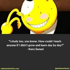 of the most inspirational assassination classroom quotes