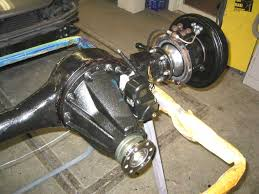 land rover axle