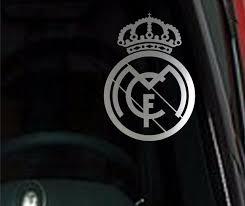 2 Units Real Madrid Vinyl Car Van Truck Decal Window Sticker Monkey Feet Graphics