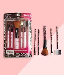 brush set of 5 multi color