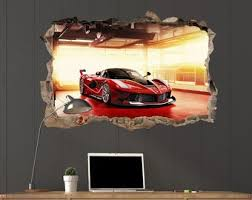 Ferrari Decal Etsy