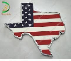Custom Usa Map Flag Car Decal Emblems And Texas Auto Car Metal Badges With Blue Ribbon Buy Usa Map Flag Car Decal Texas Map Metal Car Emblems Custom Usa Map Flag Car Decal