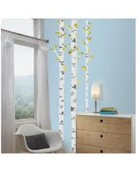Check Out Some Sweet Savings On 52 Birch Trees Peel And Stick Wall Decal Yellow Roommates