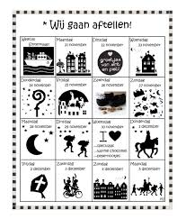 Aftelkalender 2016 Sinterklaas Knutselen Sinterklaas