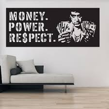 Farben Tapeten Zubehor Large Scarface Tony Montana Film Mural Wall Art Graphic Vinyl Decal Maybrands Com Ng