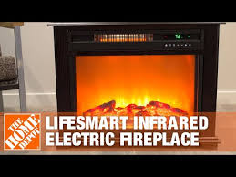lifesmart infrared electric fireplace