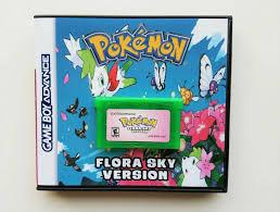 Pokemon Flora Sky Game / Custom Case - Game Boy Advance GBA ...