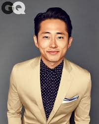 The Walking Dead's Steven Yeun Models the Best Air Ties | Steven yeun, Gq  magazine, Gq