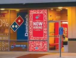 Window Decals Ross4marketing For Domino S Pizza