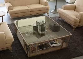 modern coffee tables in wood and glass