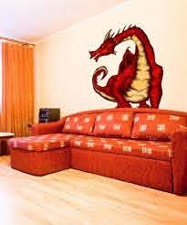 Amazon Com Graphic Wall Decal Sticker Medieval Dragon Jh106 Everything Else