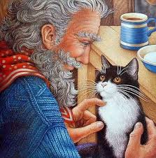 Nicola Bayley The Mousehole Cat, this is a wonderful book and also ...