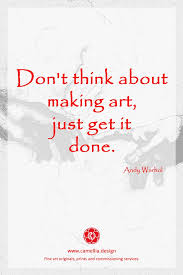 inspiration from the artist andy warhol artquote quote art