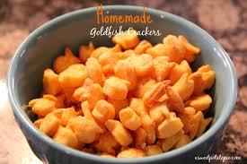 homemade goldfish ers