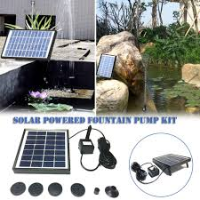 2w 7v 220l h solar water pump floating