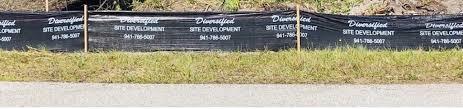 Silt Fence Erosion Control Diversified Site Development Llc