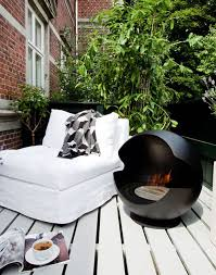 indoor outdoor bioethanol fireplace by