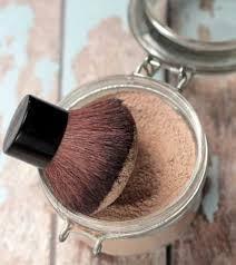 skin with diy homemade foundation