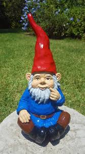 large 12 gnome garden statue outdoor