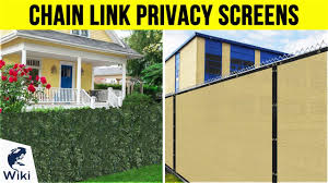 10 Best Chain Link Privacy Screens 2019 Youtube