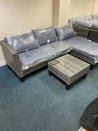kettler tangier garden sofa set ex