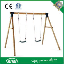 china s2s02 wooden swing set for kids