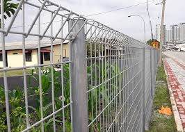 Galvanized Brc Mesh Fencing Mesh Size 50x200mm 1 2m High Wire Mesh Welded Fence