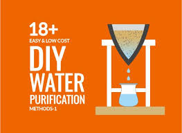 low cost diy water purification methods